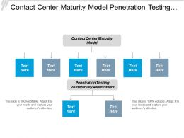 Contact Center Maturity Model Penetration Testing Vulnerability Assessment Cpb