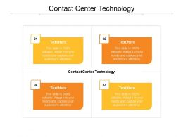 Contact Center Technology Ppt Powerpoint Presentation File Graphics Download Cpb