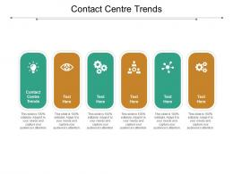 Contact Centre Trends Ppt Powerpoint Presentation Model Design Templates Cpb
