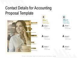 Contact Details For Accounting Proposal Template Ppt Powerpoint Presentation Slides Tips