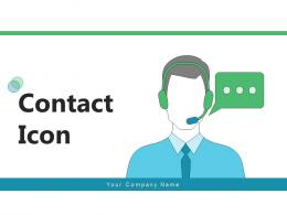 Contact Icon Process Management Potential Addresses Connectivity Through