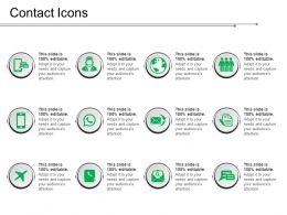 Contact Icons