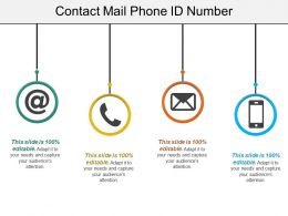 Contact Mail Phone Id Number