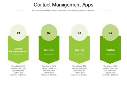 Contact Management Apps Ppt Powerpoint Presentation Infographic Template Cpb