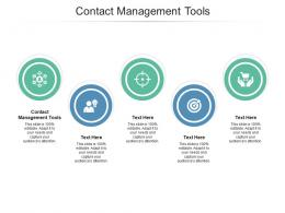Contact Management Tools Ppt Powerpoint Presentation Pictures Icon Cpb