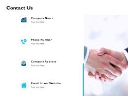 Contact Us Communication J205 Ppt Powerpoint Presentation File Model