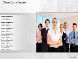 62297131 Style Essentials 1 Our Team 1 Piece Powerpoint Presentation Diagram Infographic Slide