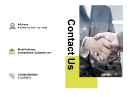 Contact Us Management Business Ppt Powerpoint Presentation File Grid