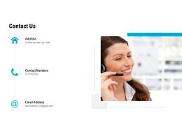 Contact Us Management L504 Ppt Powerpoint Presentation Gallery Samples