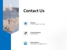 Contact Us Management L651 Ppt Powerpoint Presentation Show Ideas