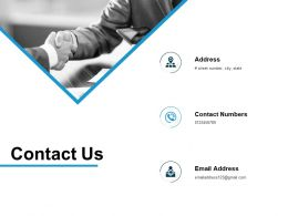 Contact Us Management L720 Ppt Powerpoint Presentation Model Smartart