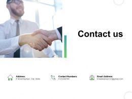 Contact Us Management L750 Ppt Powerpoint Presentation Pictures Model