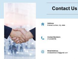 Contact Us Opportunity F462 Ppt Powerpoint Presentation Graphics Tutorials