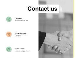Contact Us Opportunity Ppt Powerpoint Presentation Infographic Template Format Ideas