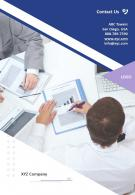 Contact Us Portfolio Presentation Report Infographic PPT PDF Document