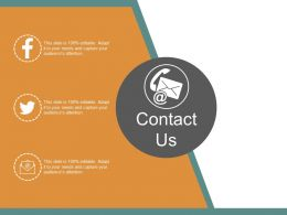Contact Us Ppt Sample Download
