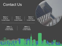 Contact Us Ppt Slides Example Topics