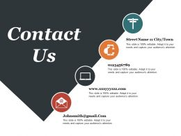 Contact Us Presentation Graphics