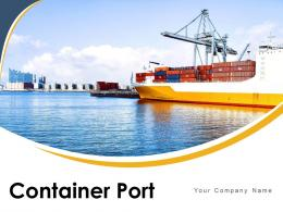 Container Port Exported Unloading Located Departure Surveillance