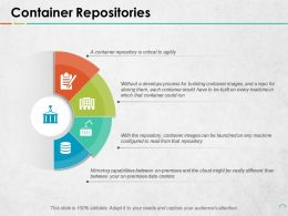 Container Repositories Ppt Portfolio Background Images