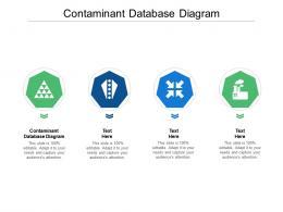 Contaminant Database Diagram Ppt Powerpoint Presentation Summary Icons Cpb