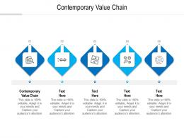 contemporary value chain ppt powerpoint presentation show display cpb