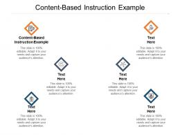 Content-Based Instruction Example Ppt Powerpoint Presentation Summary Icons Cpb