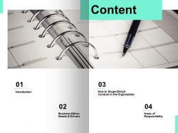 Content Agenda D115 Ppt Powerpoint Presentation Icon Slide Download