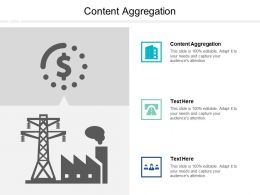 Content Aggregation Ppt Powerpoint Presentation Slides Cpb