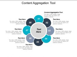 Content Aggregation Tool Ppt Powerpoint Presentation Gallery Slideshow Cpb