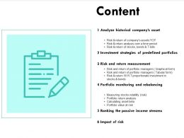 Content Analyze I268 Ppt Powerpoint Presentation Show Inspiration