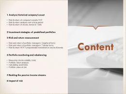 Content Analyze I308 Ppt Powerpoint Presentation Icon Infographics
