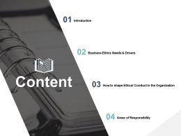 Content Areas Of Responsibility Introduction C242 Ppt Powerpoint Presentation File Slides