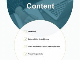 Content Areas Of Responsibility Ppt Powerpoint Presentation File Pictures