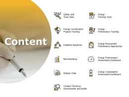 Content Benchmarking I289 Ppt Powerpoint Presentation Summary Layout Ideas