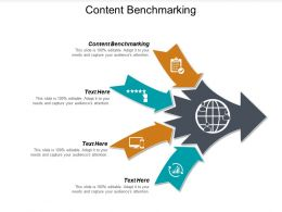 Content Benchmarking Ppt Powerpoint Presentation File Elements Cpb
