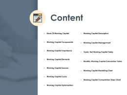 Content Capital Modelling Chart K266 Ppt Powerpoint Presentation Info Design