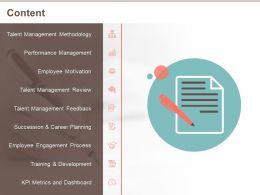 Content Career Planning M517 Ppt Powerpoint Presentation Model Deck