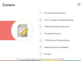 Content Checklist A29 Ppt Powerpoint Presentation File Example File