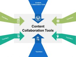 Content Collaboration Tools Ppt Powerpoint Presentation Slides Ideas Cpb