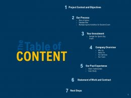 Content Company Overview Ppt Powerpoint Presentation Gallery Pictures