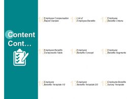 Content Cont Benefits Segments L314 Ppt Powerpoint Presentation Pictures