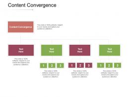 Content Convergence Ppt Powerpoint Presentation Layouts Example Cpb