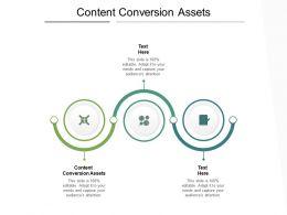 Content Conversion Assets Ppt Powerpoint Presentation Ideas Graphics Cpb