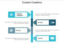 Content Creations Ppt Powerpoint Presentation Outline Example Cpb