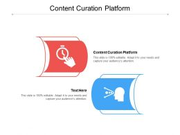 Content Curation Platform Ppt Powerpoint Presentation Infographics Background Designs Cpb