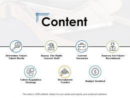 Content Current Vacancies Ppt Powerpoint Presentation Backgrounds