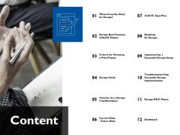 Content Dashboard Ppt Powerpoint Presentation File Templates