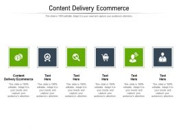 Content Delivery Ecommerce Ppt Powerpoint Presentation Slides Outline Cpb