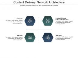 Content Delivery Network Architecture Ppt Powerpoint Presentation Background Designs Cpb